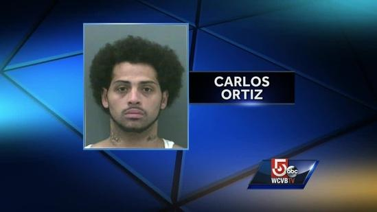 Ortiz arrested on weapons charge