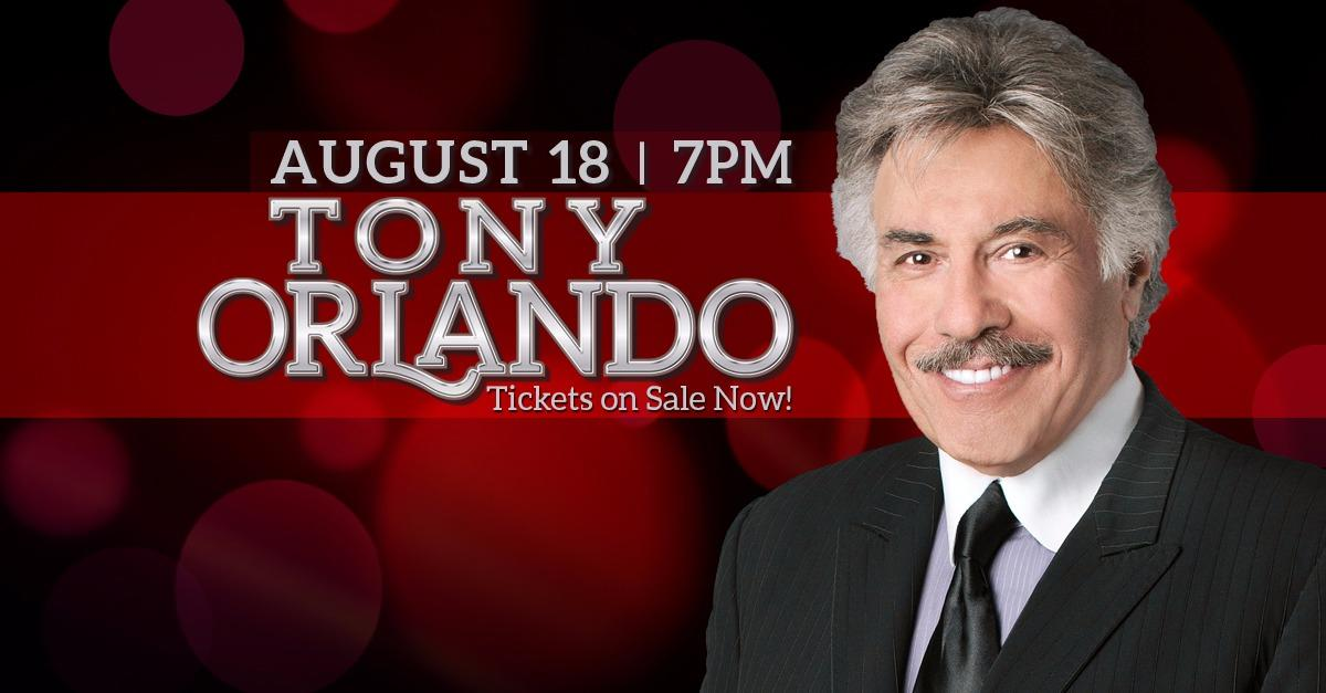 Tony Orlando at Table Mountain Casino!