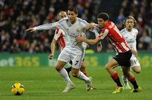 Athletic Bilbao 1-1 Real Madrid: Ronaldo sees red as visitors drop points