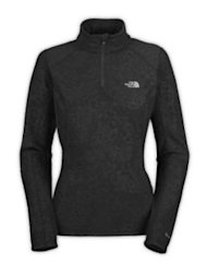 North Face embossed TKA glacier 1/4 zip