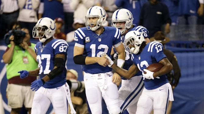 Luck leads Colts past Redskins 49-27