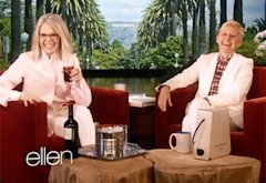Diane Keaton and Ellen DeGeneres | Photo Credits: Ellen
