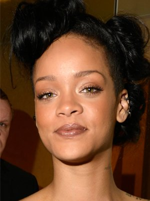 Rihanna&amp;#39;s bronze look