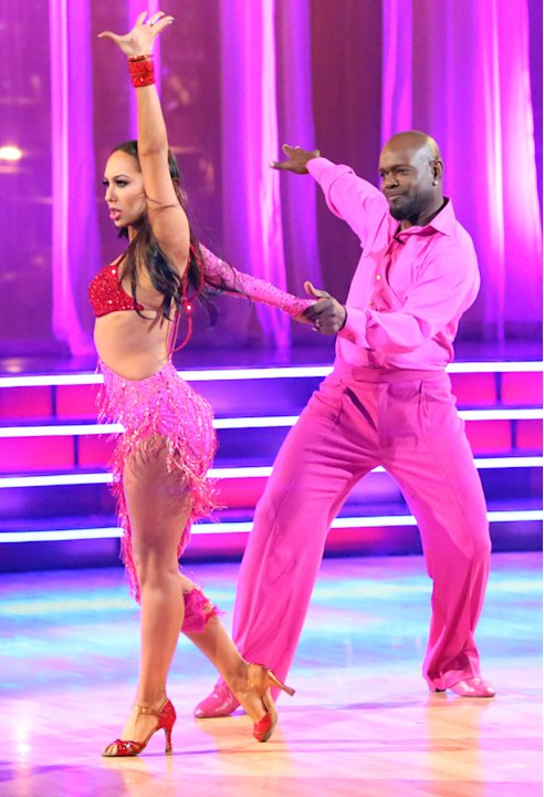 Cheryl Burke and Emmitt Smith (11/5/12)