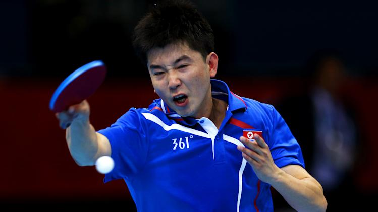 Olympics Day 1 - Table Tennis