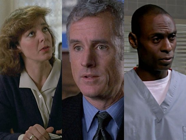 "Allison Janney '92 -- ""Star Struck""; '94 -- ""Old Friends"" (L&O), John Slattery '98 -- ""Tabloid""; '00 -- ""Stiff"" (L&O), Lance Reddick '01 -  ""Soldier of Fortune""; '04 -- ""City Hall"" (L&O); recurring ro"