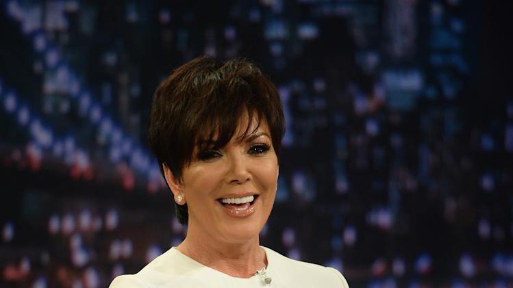 "Kris Jenner Visits ""Late Night With Jimmy Fallon"""
