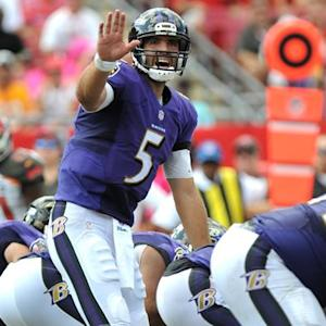 Joe Flacco could put up big numbers against the Falcons