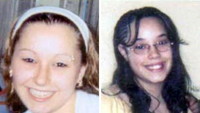 "FILE - These undated handout file photos provided by the FBI show Amanda Berry, left, and Georgina ""Gina"" Dejesus. Ohio State Rep. John Barnes Jr. wants the state to provide years of relief payments and a free ride to college for the three Cleveland women abducted and held in captivity for about a decade. Barnes Jr. is introducing his Survivors of Abduction Act on Tuesday, June 4, 2013. It would provide Amanda Berry, Gina DeJesus and Michelle Knight at least $25,000 a year in reparations for the years they were restrained and tuition, fees and living expenses at a public college. (AP Photo/FBI, File)"