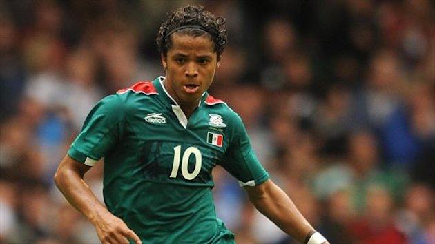 Giovani dos Santos playing for Mexico (PA Sport)