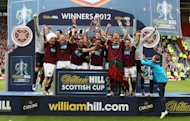 Hearts thrashed rivals Hibs in last season's Scottish Cup final