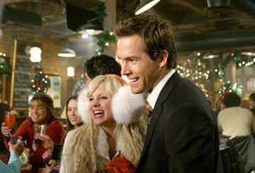 Anna Faris and Ryan Reynolds in New Line Cinema's Just Friends