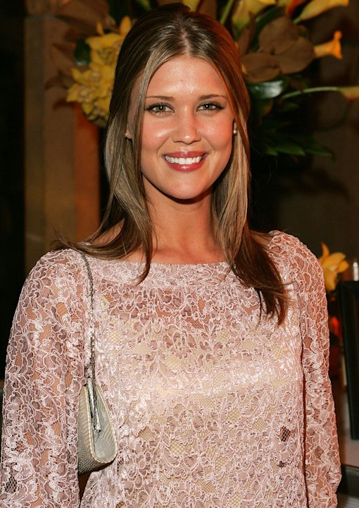 Sarah Lancaster at the 11th Victoria's Secret Fashion Show - After Party.