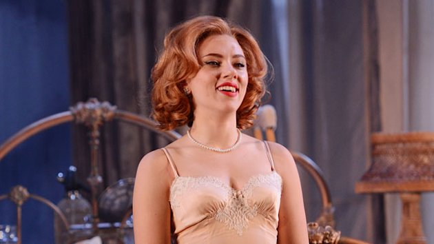 Scarlett Johansson Talks Failed 'Les Miz' Audition