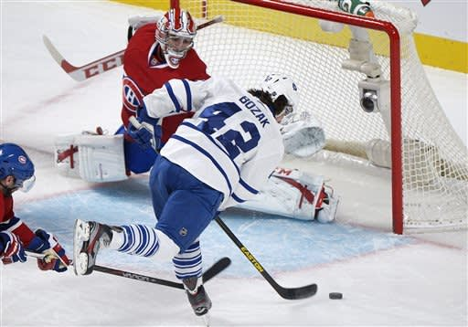 Maple Leafs blank Canadiens 6-0