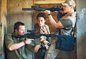 Strike Back's New Agent  | Photo Credits: Rhona Mitra, Sullivan Stapleton and Philip Winchester