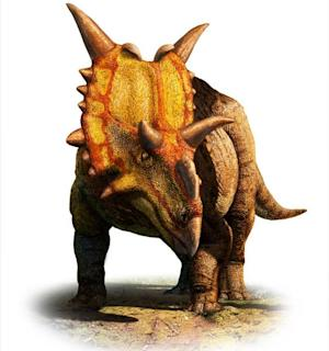 2-Ton 'Alien' Horned Dinosaur Discovered