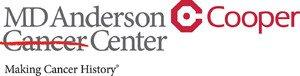 Cooper and MD Anderson Cancer Center Officially Enter Partnership