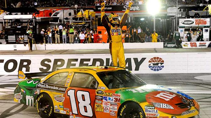 Kyle Busch last to sweep Bristol Sprint Cup races