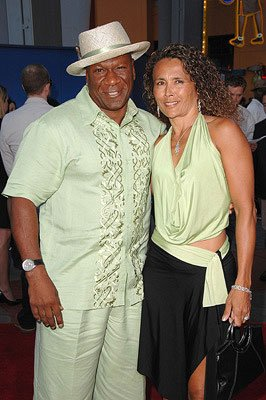 Ving Rhames and date at the premiere of Universal Pictures' I Now Pronounce You Chuck & Larry