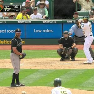 Bettis' fourth strikeout