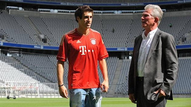 FOOTBALL 2012 Bayern Munich Javier Martinez