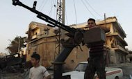 Free Syrian Army Hangs On In Aleppo