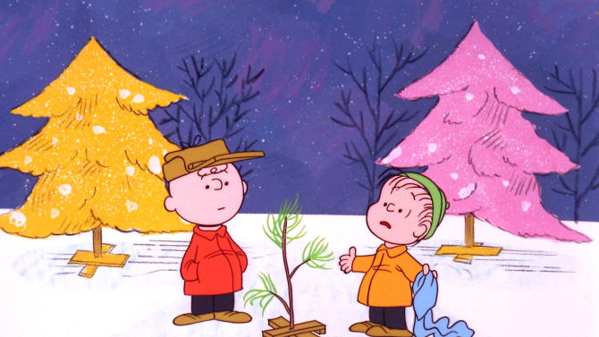 "FILE - In this file image originally provided by United Feature Syndicate Inc. VIA ABC TV, Charlie Brown and Linus appear in a scene from ""A Charlie Brown Christmas,"" a television special based on the ""Peanuts"" comic strip by Charles M. Schulz. ""Peanuts,"" the first full-length CG-Animated film based on Schulz's comic strip, which ran from October 1950 to February 2000, will hit theaters November 6, 2015. The beloved pair's updated look is shown off in a new trailer for the film, to be released by Blue Sky Studios, 20th Century Fox's animation house. (AP Photo/ABC, 1965 United Feature Syndicate Inc., File) **NO SALES** **MANDATORY CREDIT: United Feature Syndicate Inc. **"