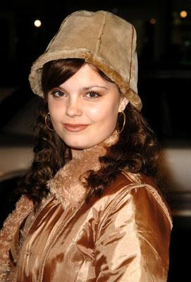 Kimberly J. Brown at the Hollywood premiere of Paramount Pictures' Coach Carter
