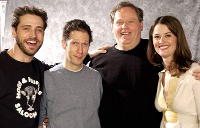 Jason Priestley, Tim Blake Nelson, Finn Taylor and Robin Tunney
