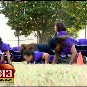 Training Begins For The Nighthawks, Baltimore's Full Contact Football Team For Women