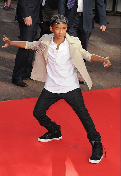The Karate Kid UK Premiere 2010 Jaden Smith