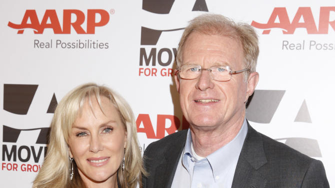 Rochelle Begley and Ed Begley Jr. attend AARP The Magazine's 12th Annual Movies for Grownups Awards at The Peninsula Hotel on February 12, 2013 in Beverly Hills, California. (Photo by Todd Williamson/Invision for AARP Magazine/AP Images)