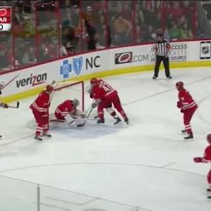 Cam Ward Save on Scott Gomez (12:12/2nd)