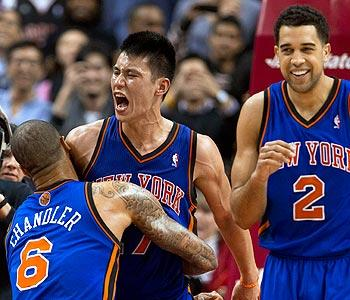 Jeremy Lin makes Knicks witnesses to history