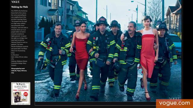 Vogue Superstorm Sandy Spread Causes Controversy