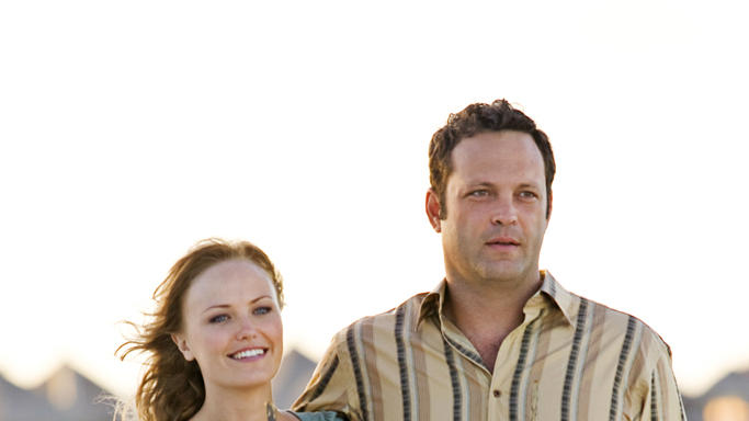 Malin Akerman Vince Vaughn Couples Retreat Production Stills Universal 2009