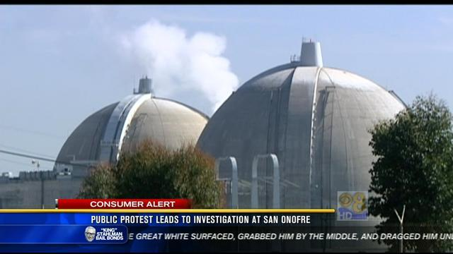 Public protest leads to investigation at San Onofre