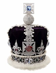 Thought that the Queen's jewels were one of a kind? And that one couldn't get one's greedy mitts on them? We did too