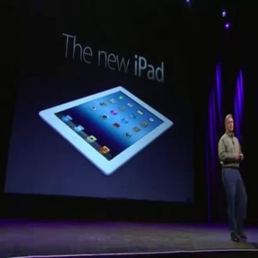 Apple present la nueva iPad sin Steve Jobs. Es la tercer tablet que la compaa lanza al mercado.