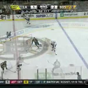 Kings at Bruins / Game Highlights