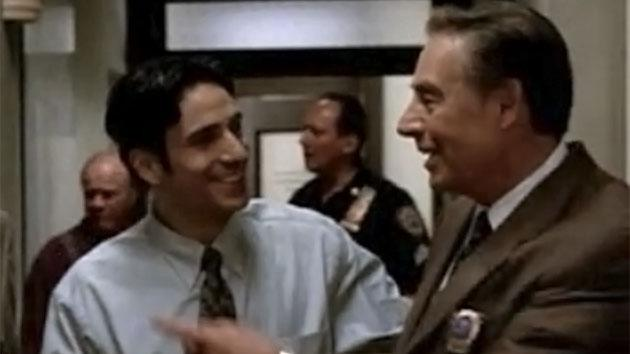 "Chris Orbach and Jerry Orbach on ""Law & Order"""