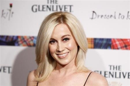"Singer Kellie Pickler arrives at the 2011 ""Dressed to Kilt"" charity fashion show in New York"