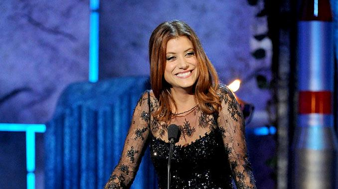 Actress Kate Walsh speaks onstage at Comedy Central's Roast of Charlie Sheen.