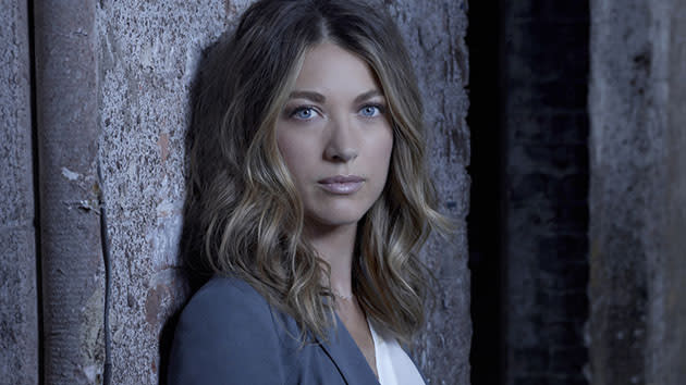 Natalie Zea as Claire Matthews in THE FOLLOWING