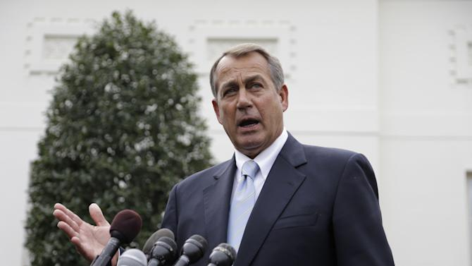 Boehner after Obama meeting: No new taxes