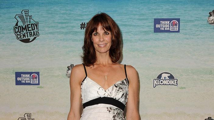 "Alexandra Paul arrives at the ""Comedy Central Roast Of David Hasselhoff"" held at Sony Pictures Studios on August 1, 2010 in Culver City, California."