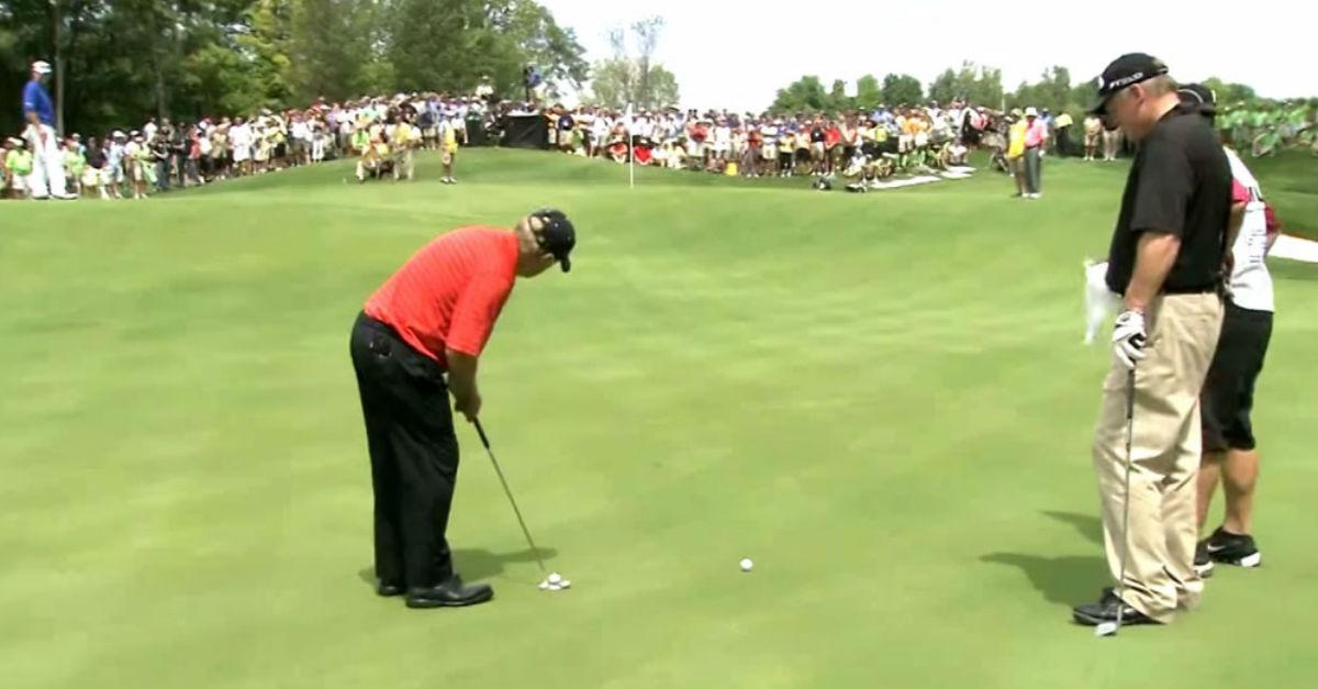 Golf Shot Miracle! Watch What Happens!