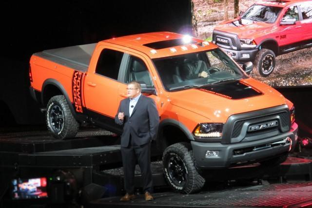 2017 Ram Power Wagon Gets A Newer, Tougher Face: Live Photos And Video