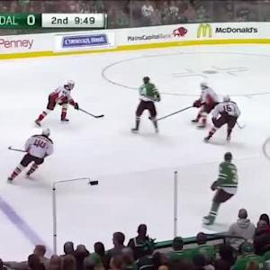 John Gibson Save on Jason Spezza (10:14/2nd)